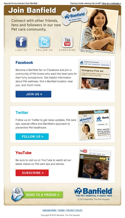 Simply Social Media Social Media Email Template - Social media marketing email templates