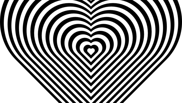 zebra print heart coloring pages - photo #13